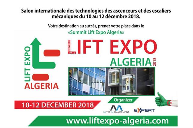 LIFT-EXPO 2018 ALGERIA.