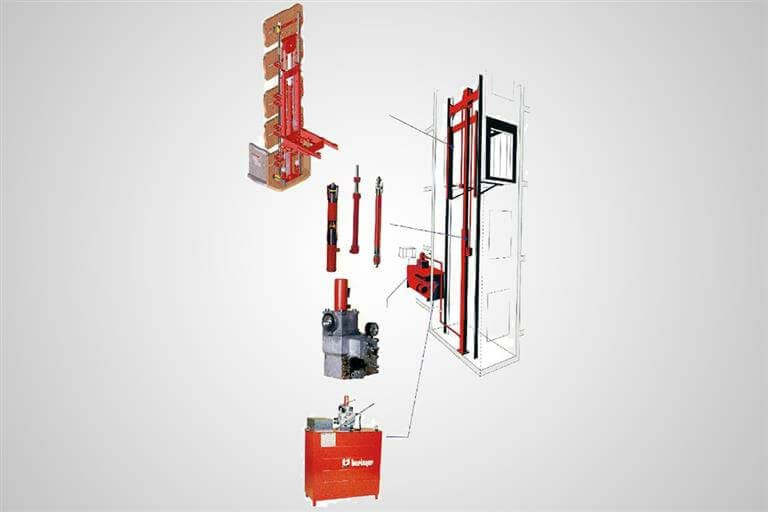 Hydraulic Lifts Systems.