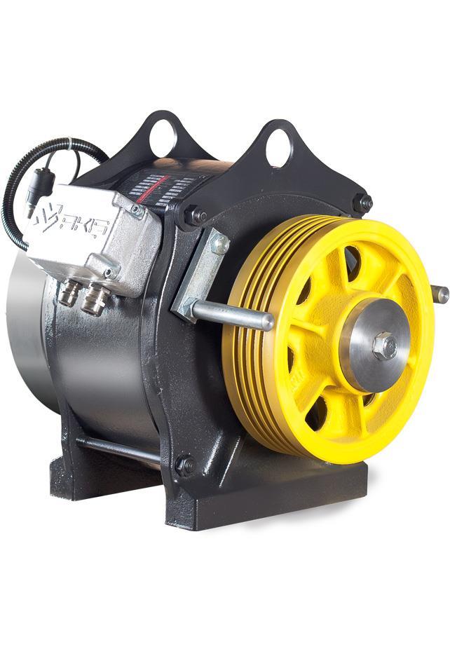 Ak2 Gearless Traction Machine