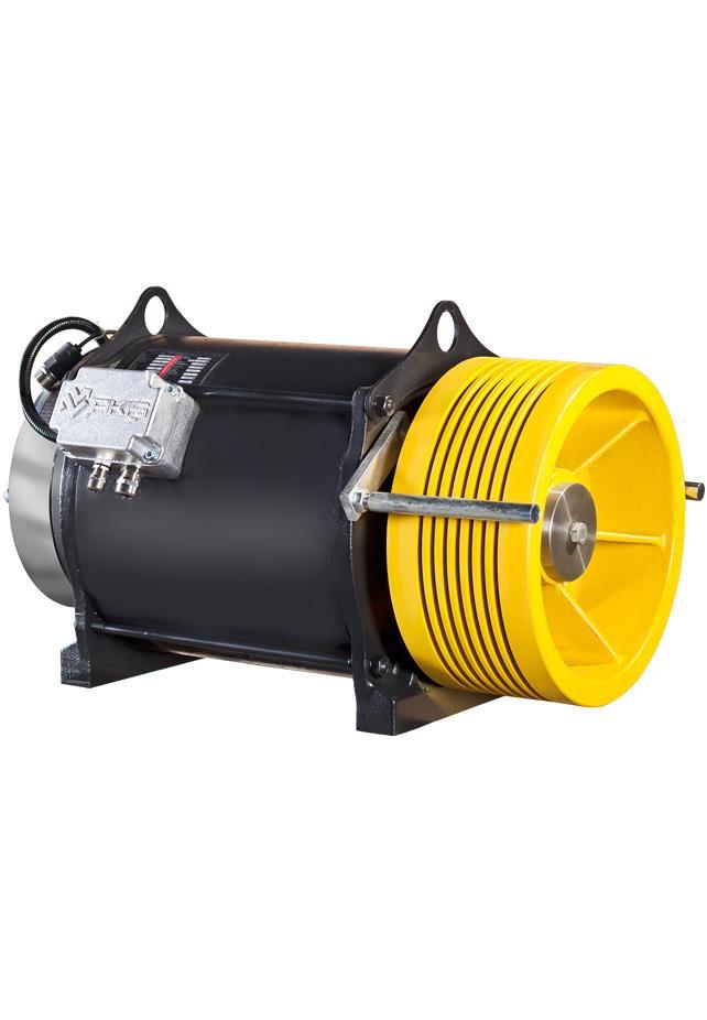 Ak5 Gearless Traction Machine