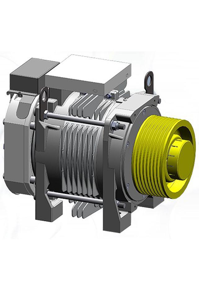 Alberto Sassi G200 T1 Gearless Machine Motor