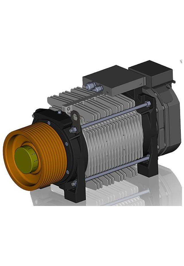 Alberto Sassi G300 T2 Gearless Machine Motor