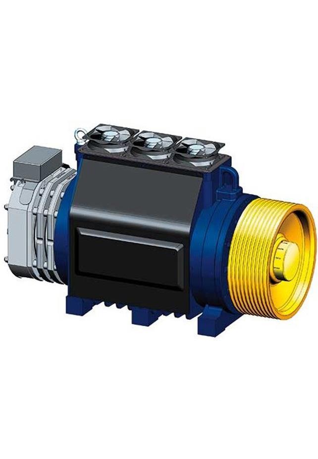 Alberto Sassi G400 L2 Gearless Machine Motor