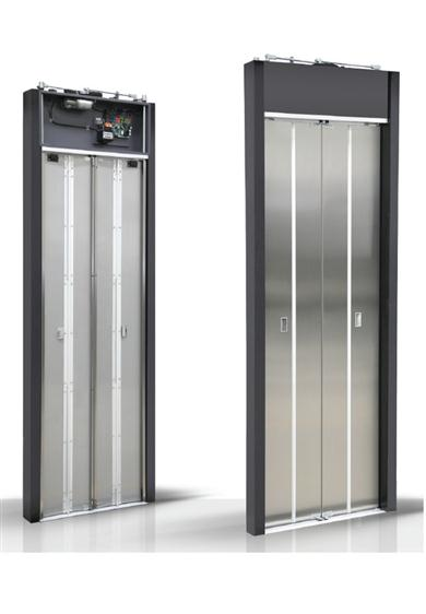Merih D Type Automatic Folding Door.